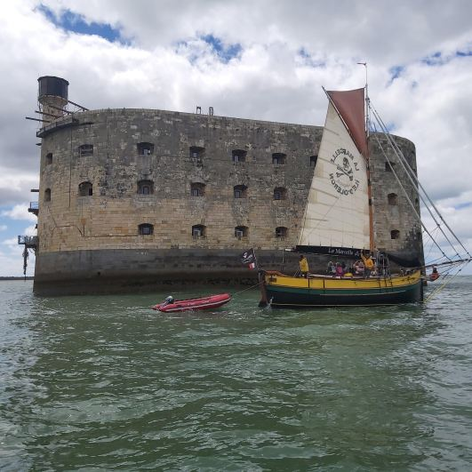excursion nautique fort boyard